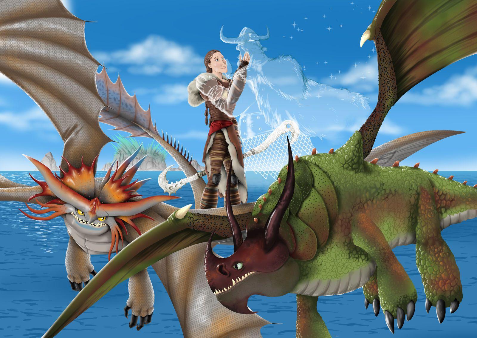 фото все драконы из как приручить картинки словно настоящие