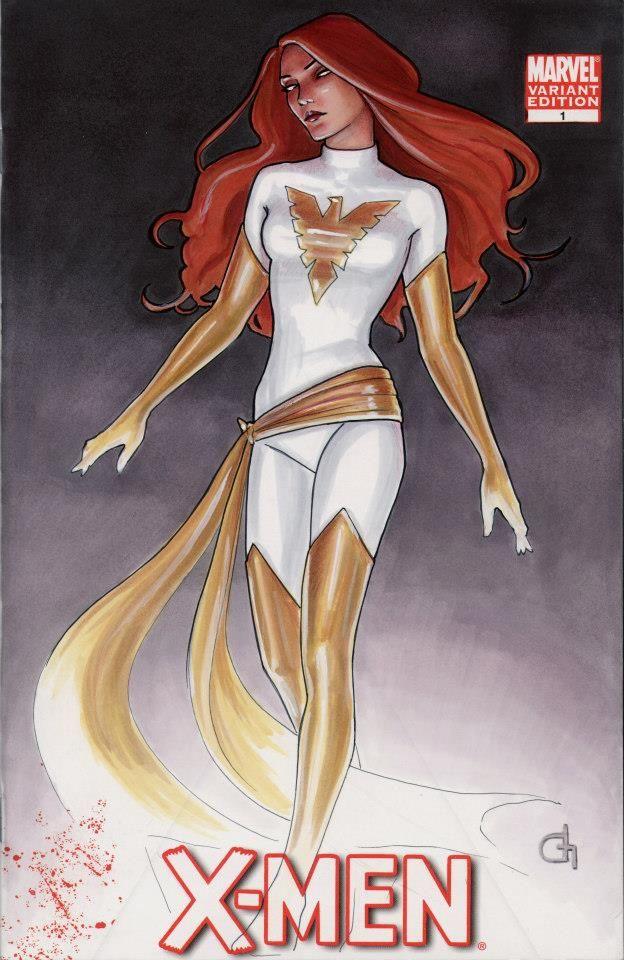 White Phoenix by Dijana Granov WhitePhoenix XMEN