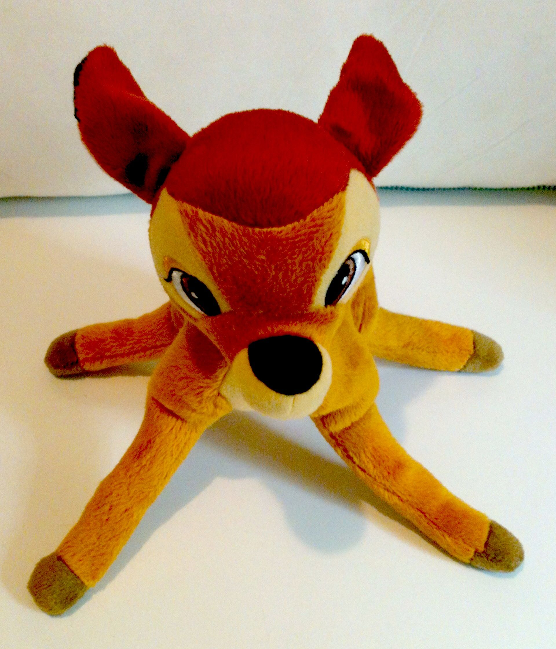 "Disney Bambi 8"" plush toy by Just Play. Still new on his"