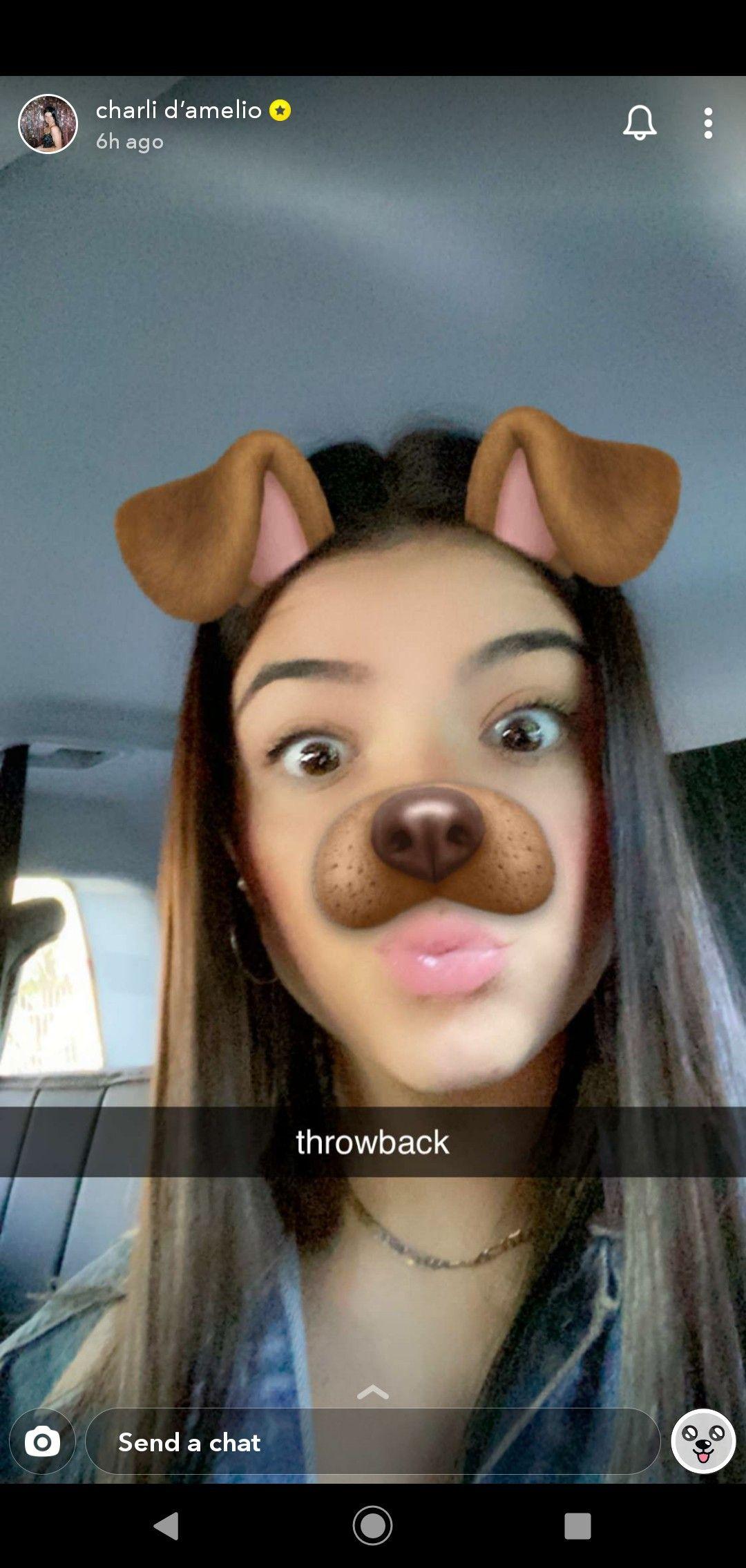 Charli D Amelio On Snapchat Foto Rare Foto Di Celebrita Coppie Carine