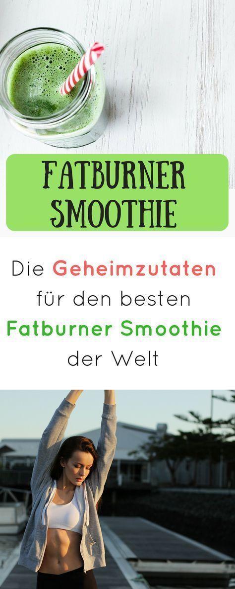 Der beste Fatburner-Smoothie, der leicht abnehmen kann durch ...   - Health and fitness - #Abnehmen...