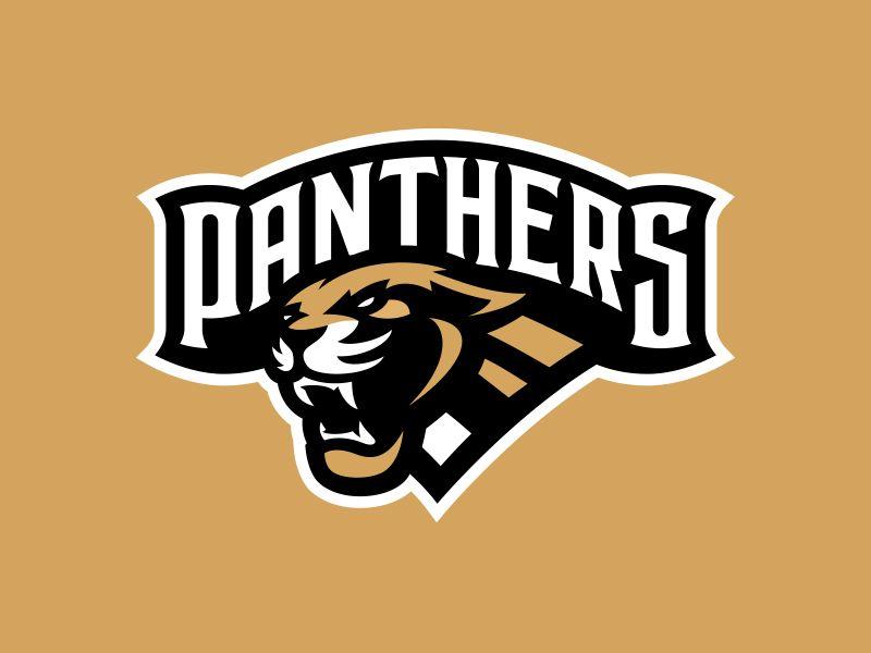 3b1c32195570b Panthers | Logos | Panther logo, Logos, Hockey logos