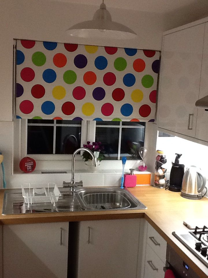 Colourfully bright kitchen Blind: Argos.co.uk (children's ...