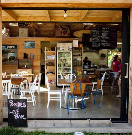 Piha Cafe, Auckland, New Zealand