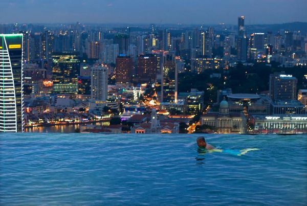 15 Awesome Infinity Pools Around The World Amazing Swimming