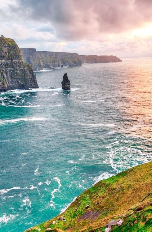 Take a two-hour scenic drive from Dublin, stay at the Adare Manor Resort and visit the Cliffs of Moher, the Ring of Kerry and Blarney Castle, all of which are within a one-hour drive.