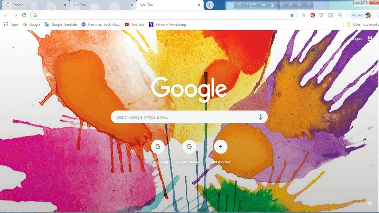 Change your Web Browser Background One Click Wallpaper