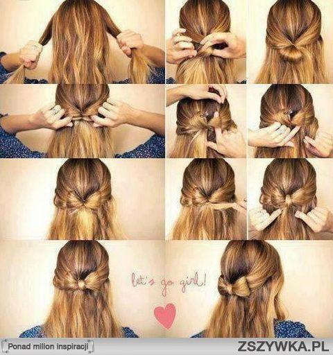Fryzury Na Długie Włosy Na Codzień Hair Tutorial W 2019