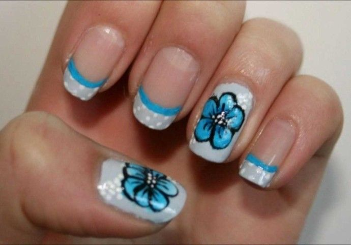 Nail Art With Masking Tape. #17063 Nail And Hair Your Reference ...