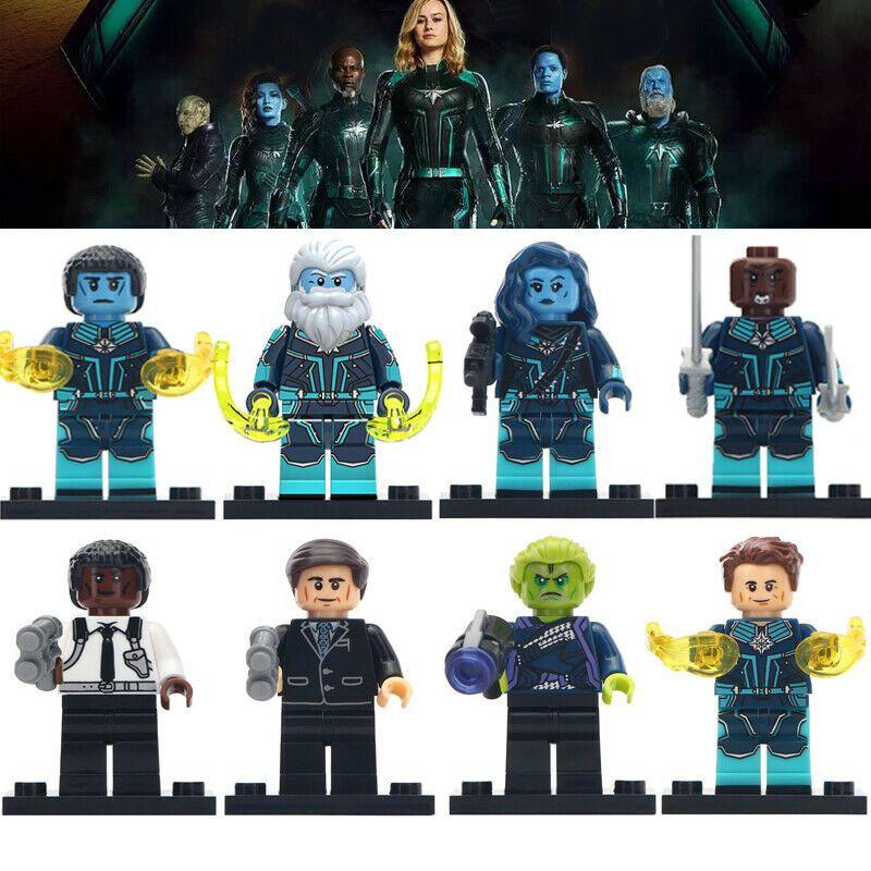Minn-Erva Mini figure Captain Marvel