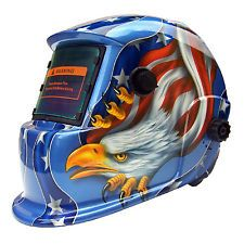 Auto Solar Darkening Mask Welding Helmet TIG MIG Arc Grinding Hood Eagle