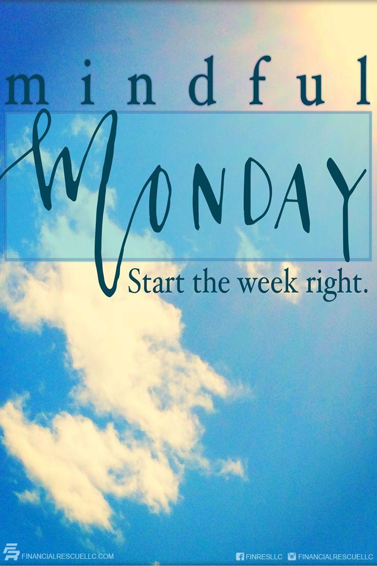 Happy Monday Everyone Start The Week