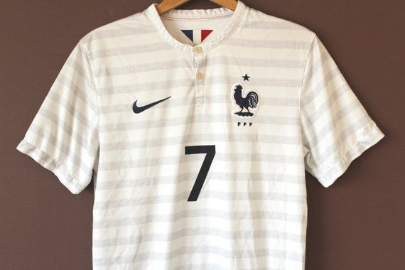 cheap for discount 470fb a09cd Vintage NIKE Football Shirt, French National Team Soccer ...