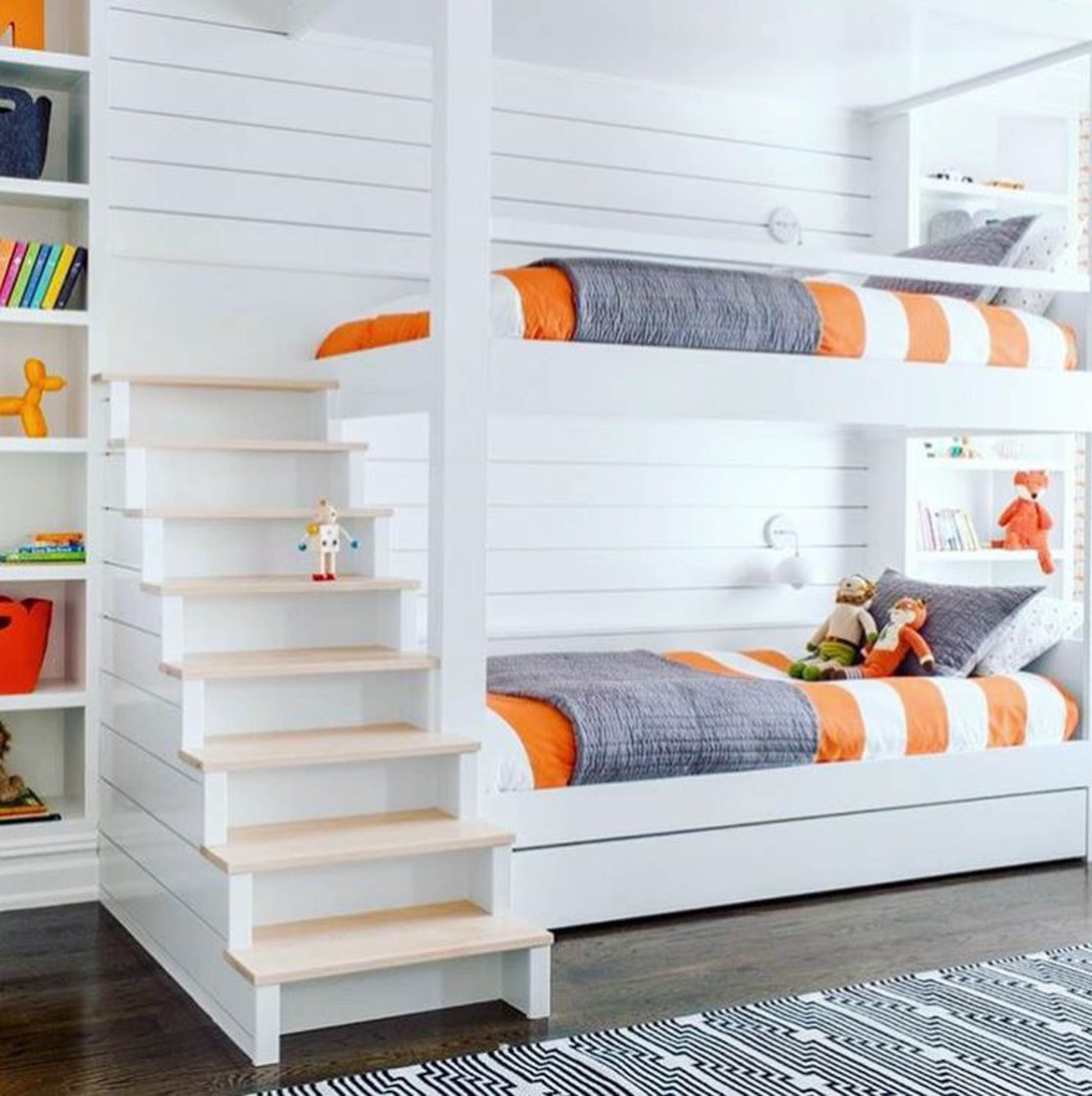Here S What S Trending In The Nursery This Week Project Nursery Bunk Bed Rooms Bunk Beds Built In Bunk Bed Designs