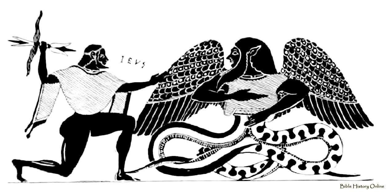 Zeus and Typhos Греция