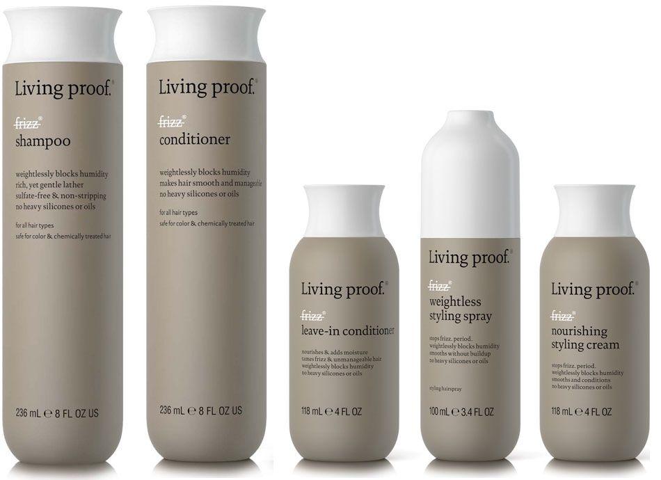 Living Proof No Frizz Amostra Gratis Maquiagem Produtos Para Cabelo Shampoo E Condicionador