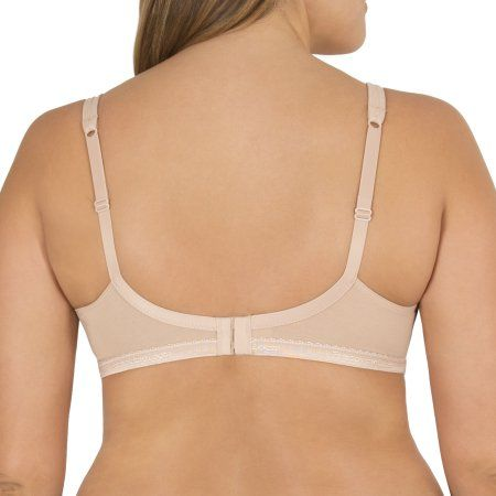 4b91b2de68427 Fruit of the Loom Women s Cotton Stretch Extreme Comfort Bra
