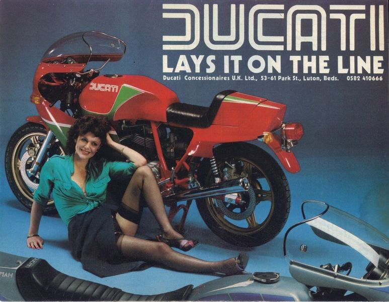 Retro Cool Motorcycle Adverts Return Of The Cafe Racers Ducati Vintage Motorcycles Cool Motorcycles