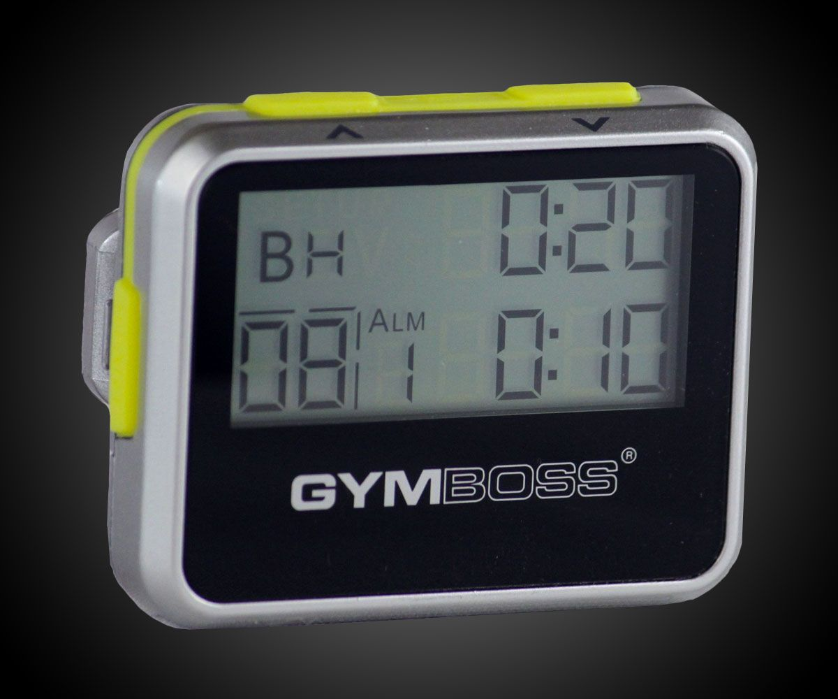 Us led programmable crossfit stopwatch interval timer wall clock