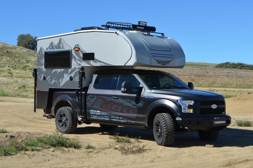 Lance 650 Truck Camper | Campers | Truck camper, Camper