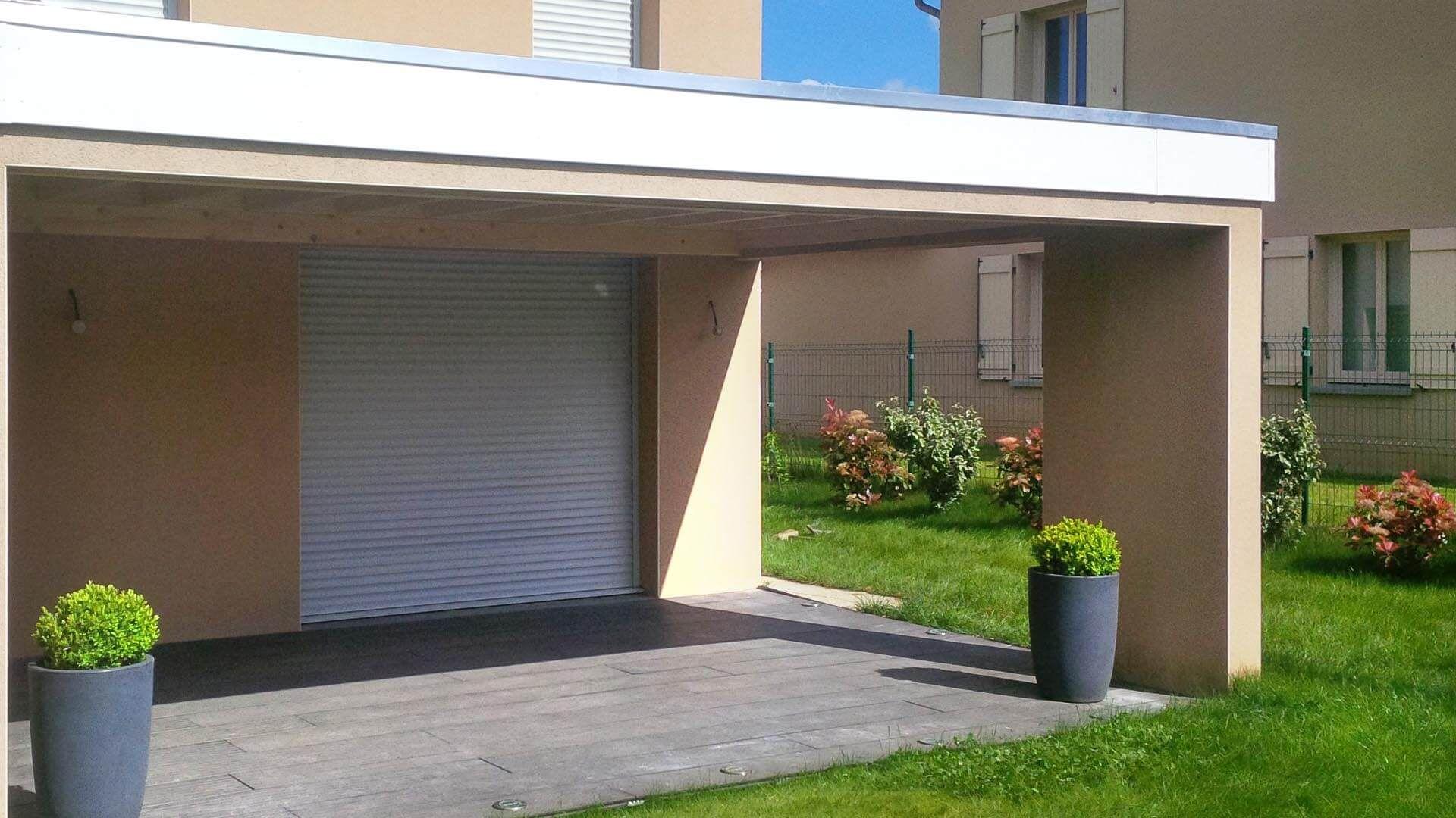 auvent terrasse moderne toit plat thonon | auvents de terrasse