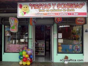 Tienda fiestas y sonrisas se encuentra ubicado en la fortuna de san carlos costa rica - Almacenes san carlos ...