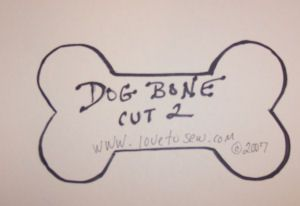 Dog Bone Pillow Pattern Free First Find Or Draw A Dog