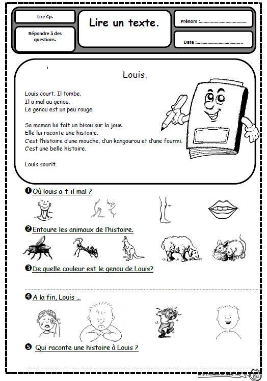 Populaire Petits textes pour travailler la lecture et la compréhension en CP  OD28