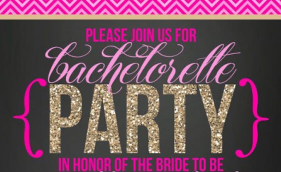 Bachelorette invitation | Shower Her with Love//Bridal ...