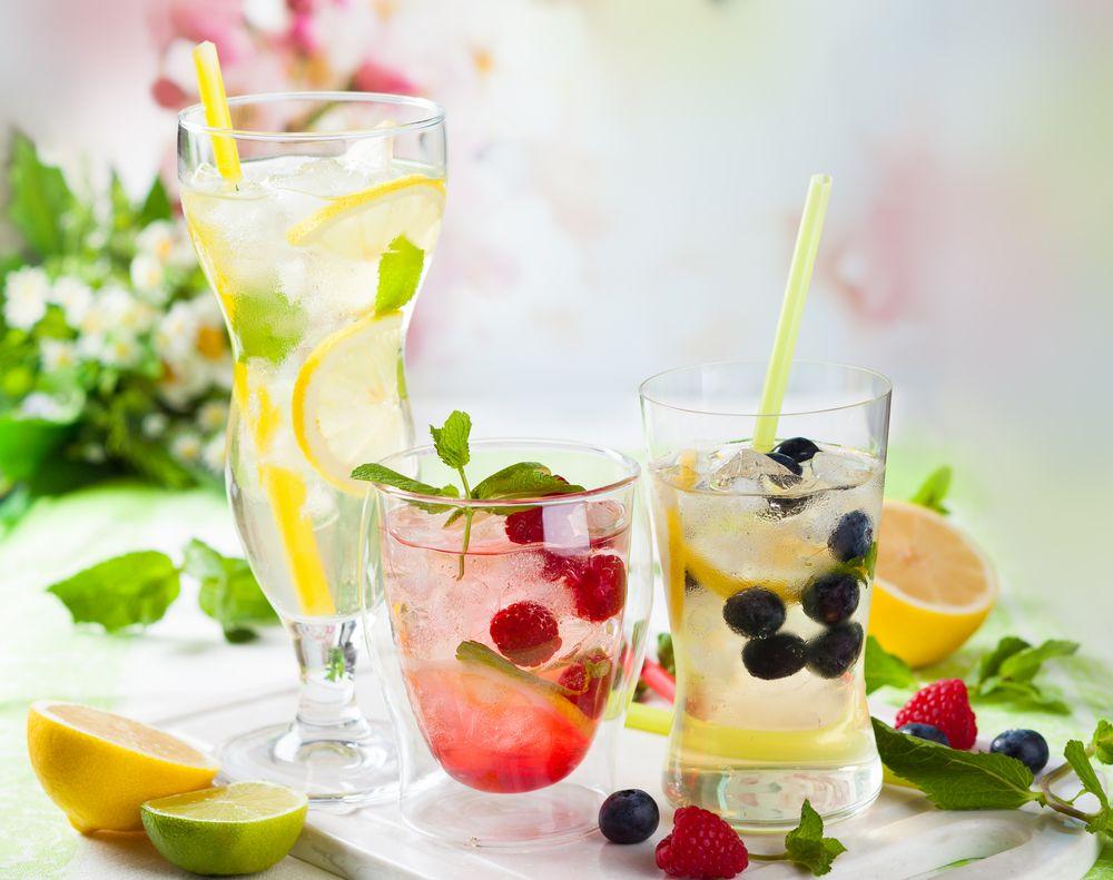 Coctel Ponche Kew Receta Recetas De Agua Infundido Recetas Con Frutas Y Arandanos Recetas