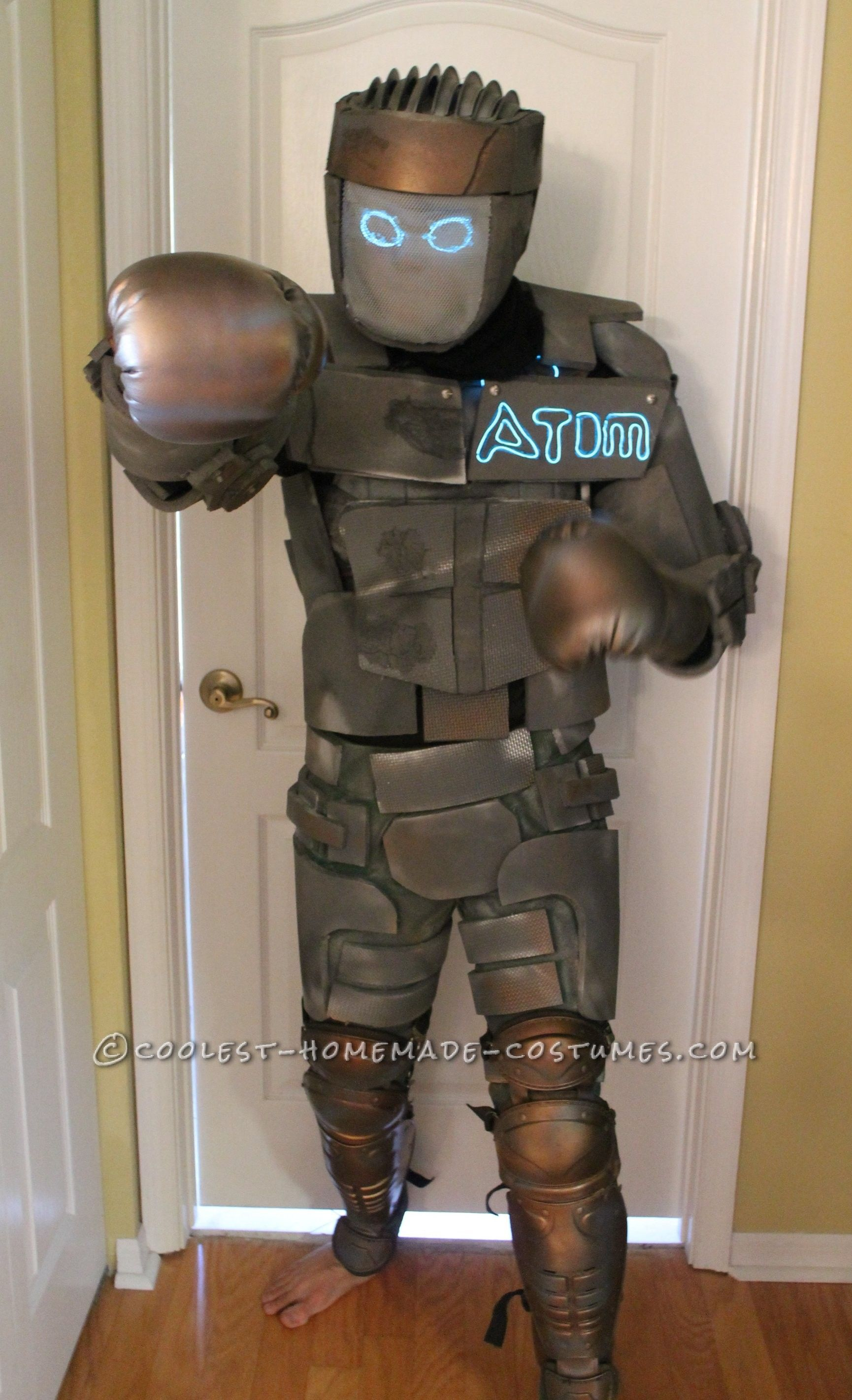 Cool Homemade Boy's Costume: Atom from Real Steel | Real ...