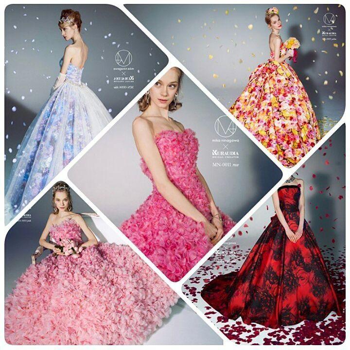 0cc975d874a6c 蜷川実花のウェディングドレス とっても可愛いけど色が式に合わない 左下 ...