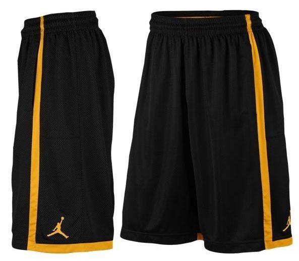 de04d73d8fe7 Mens Nike Air Jordan Crossover Basketball Shorts 724834-013 Black Orange Size  L  Nike  Shorts