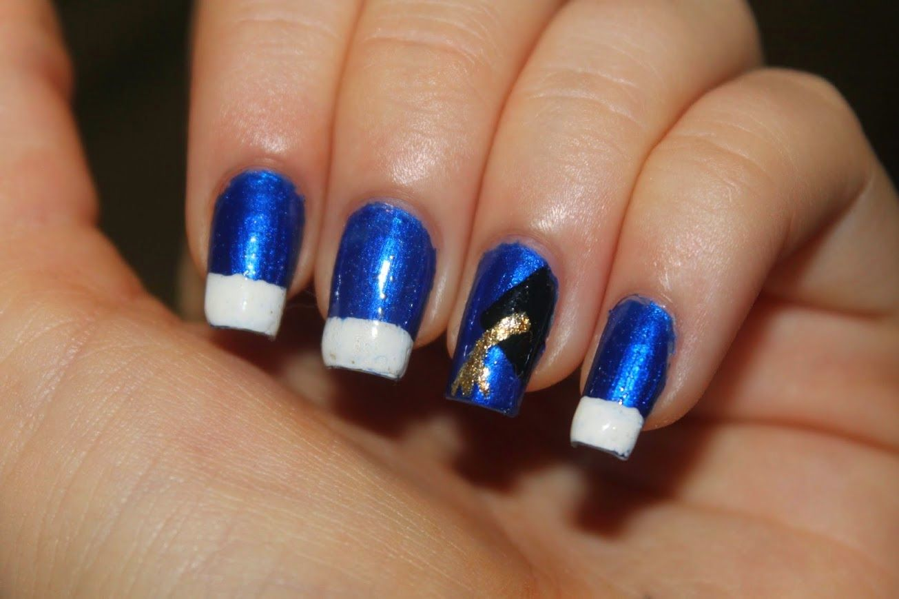 By My Fingertips Graduation Nail Art   Graduation nail art ...