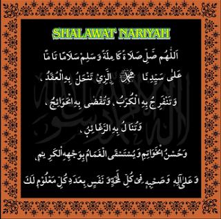 Teks Bacaan Sholawat Nariyah Lengkap Dengan Terjemahan