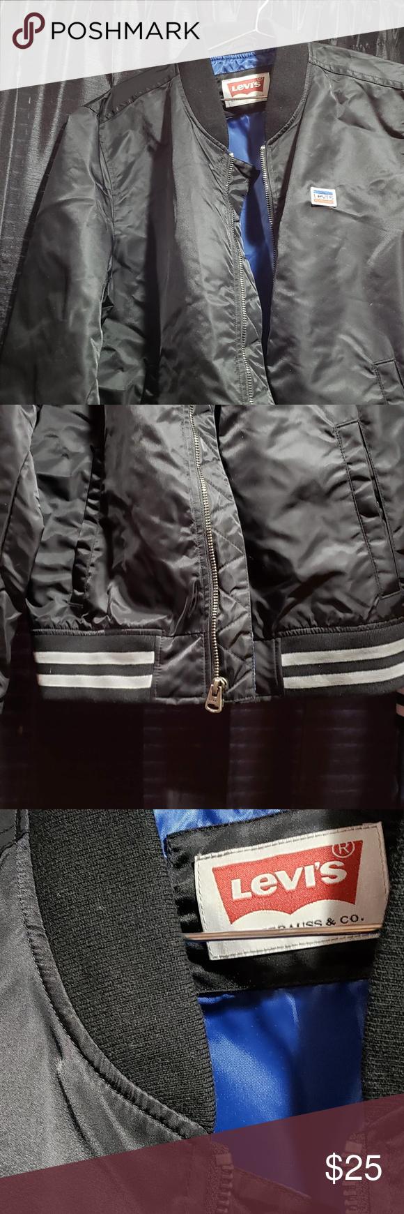 Men S Levi S Bomber Jacket Bomber Jacket Jackets Levi [ 1740 x 580 Pixel ]