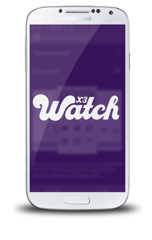 samsung X3watch for Android is an accountability software