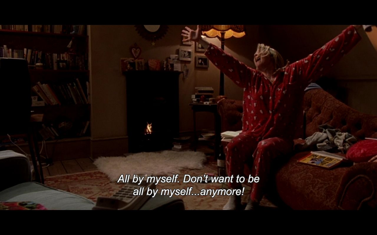 Bridget Jones All By Myself Best Movie Lines Bridget Jones Bridget Jones Diary