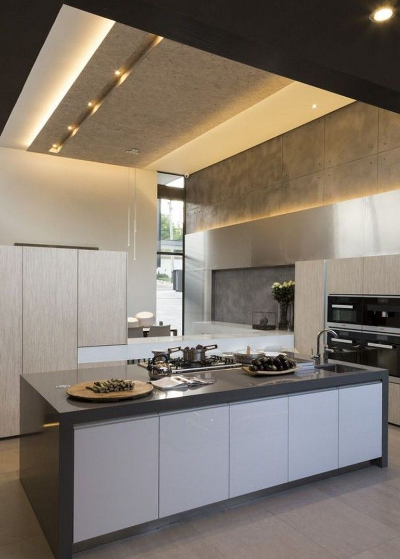 9+ Awesome & Modern Led Strip Ceiling Light Design   Contemporary ...