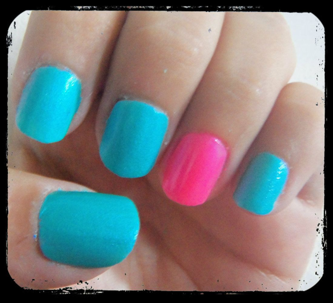 Cotton Candy Nail Color: Make Your Own Custom Nail Colors At Home! ♥ Cotton Candy