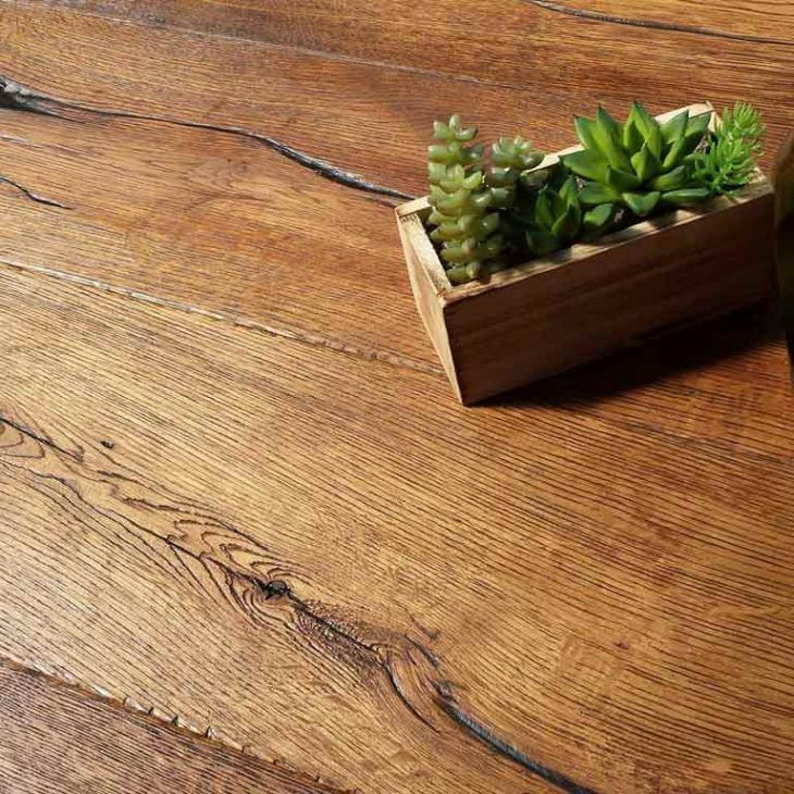 Distressed wood floor Vintage wood floor, Wood floors