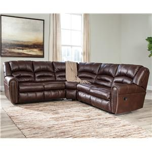 Signature Design by Ashley Manzanola Reclining Sectional with