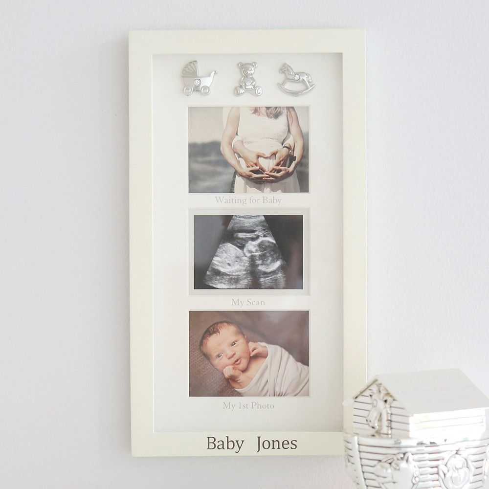 Personalized \'Waiting For Baby\' Frame | Baby frame, Baby care and Babies