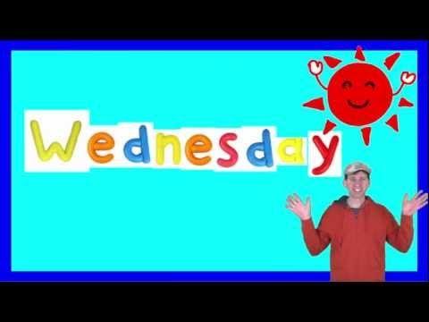 Wednesday Song for Children - YouTube | songs | Kids songs