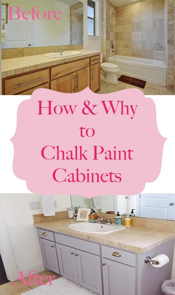How And Why To Chalk Paint Cabinets By Happy Chapter Chalk Paint Cabinets Painting Cabinets Chalk Paint Kitchen