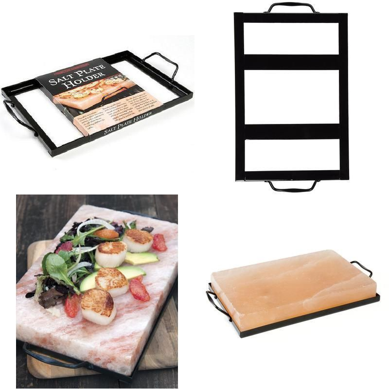 Charcoal Companion CC3526 Salt Plate Holder HOLDS a BLOCK of Himalayan Salt Fit  sc 1 st  Pinterest & Charcoal Companion CC3526 Salt Plate Holder HOLDS a BLOCK of ...