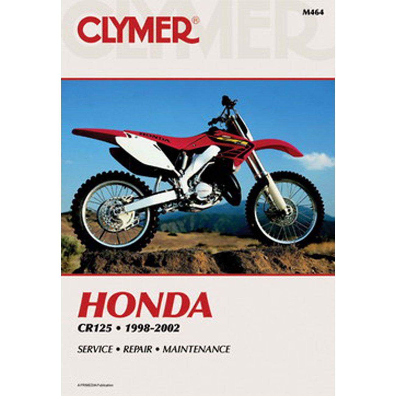 Clymer Dirt Bike Manual - Honda CR125 - Chaparral Motorsports