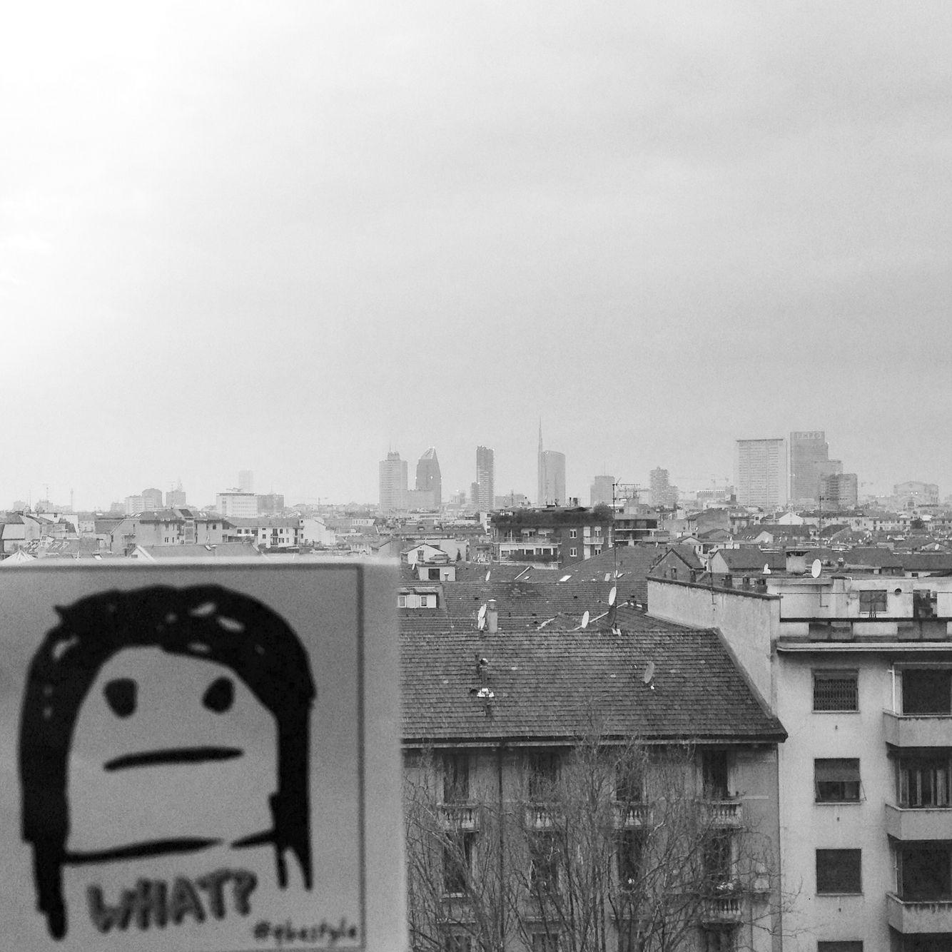 Milano, the skyline. View from piazza Leonardo da Vinci.   #qbestyle #tshirts #tee #qbestyler #wear #style #stylish #graffiti #italy #travel #streetart #italianstyle #outfit #fashion #stickers #milano #milan #ilovemilano #skyline #art #architecture #italiandesign #design   qbestyle.com
