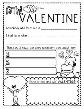 valentine 39 s day freebie holidays and seasonal education resources valentine activities. Black Bedroom Furniture Sets. Home Design Ideas
