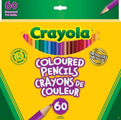 Crayola 60 Coloured Pencils Crayola Colored Pencils Colored Pencils